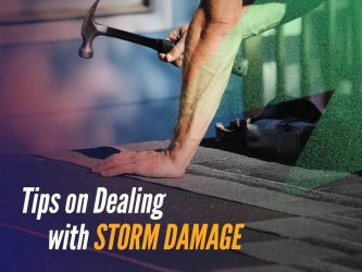 Tips on Dealing with Storm Damage