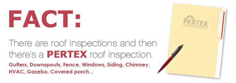 pertex roof inspection news